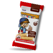 Wafer straws Trubochkin Junior with chocolate filling