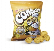 "Corn balls ""Solkov"" with mushrooms and sour cream flavor"